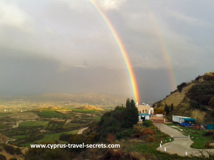 cyprus rainbows