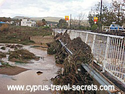 heavy rain in cyprus
