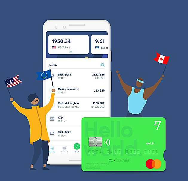 transferwise multi currency account