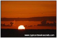 cyprus sunset picture