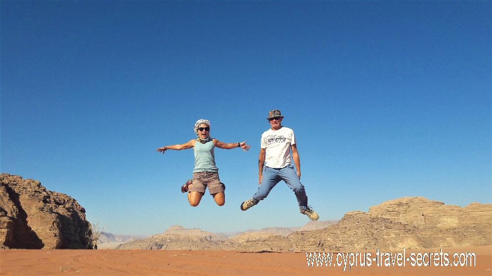 Fun in Wadi Rum