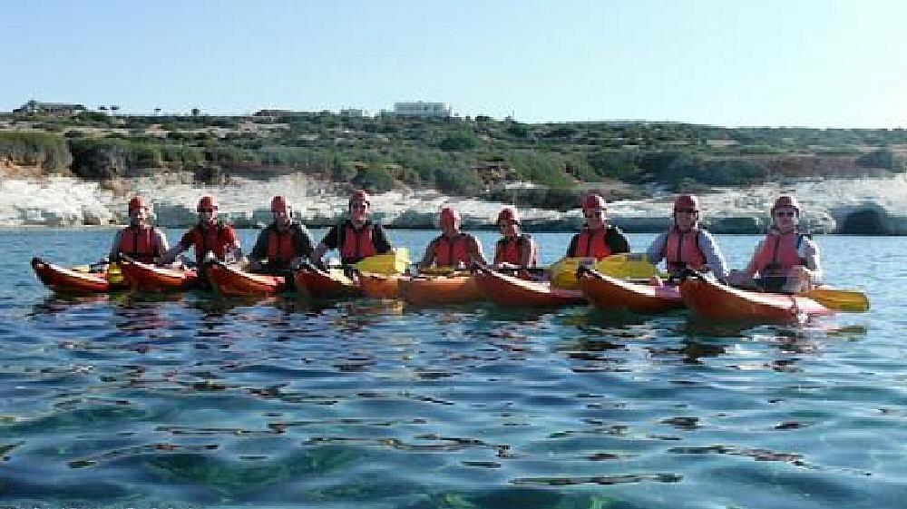 sea caves kayak