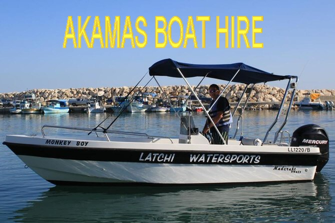 Latchi Watersports boat hire