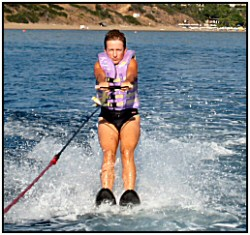 learn to waterski in cyprus