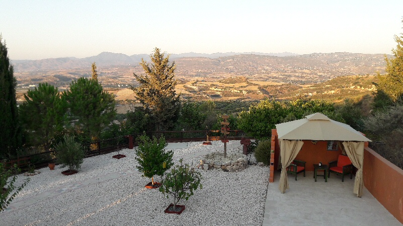 mountain views from cyprus bed and breakfast