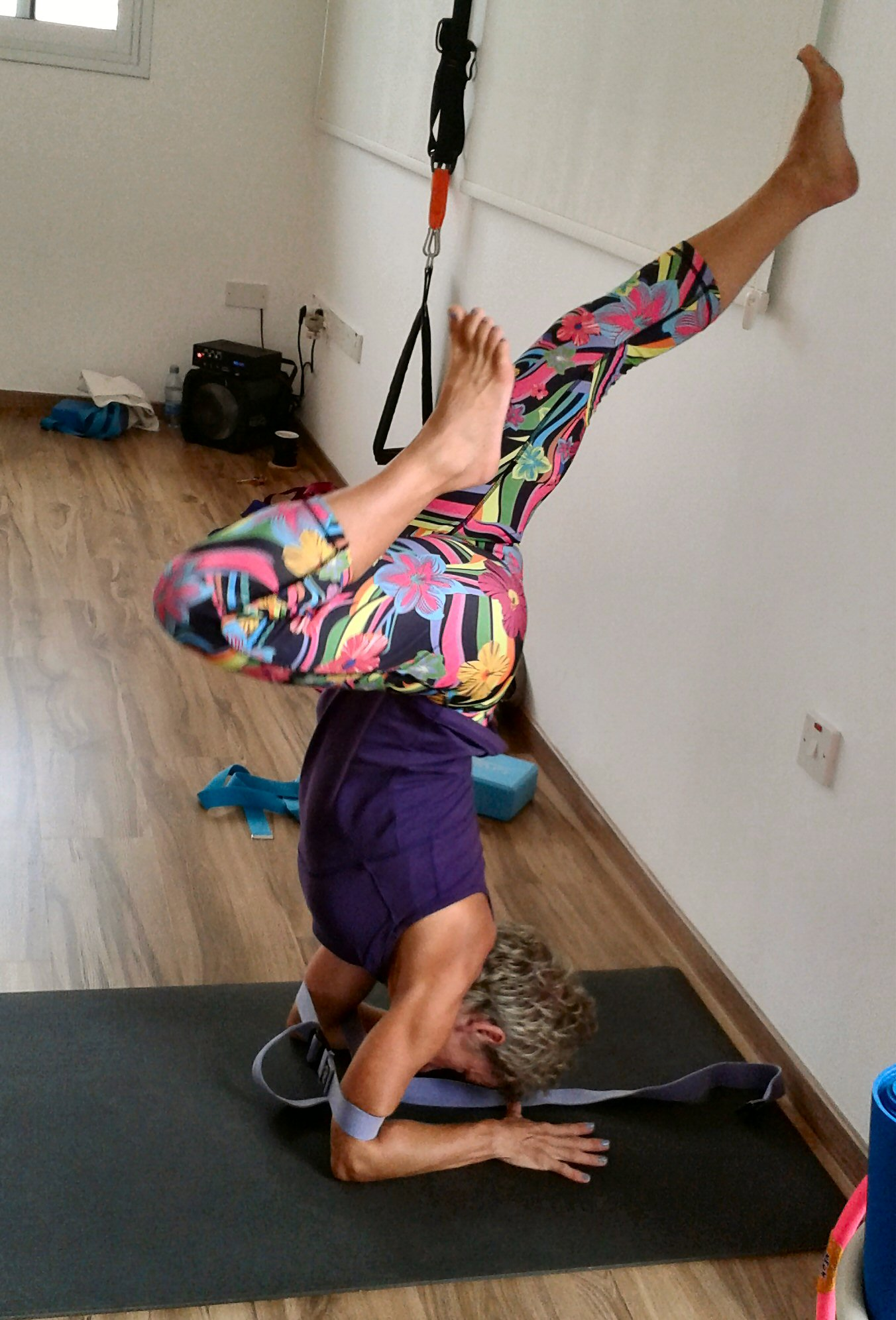 yoga in cyprus inversions