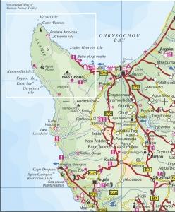 selas cyprus map