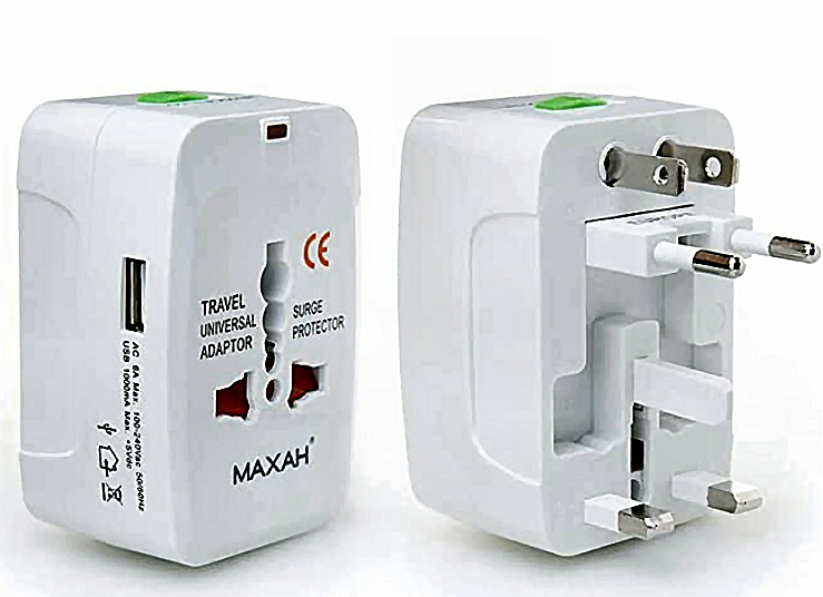 cyprus universal travel adaptor