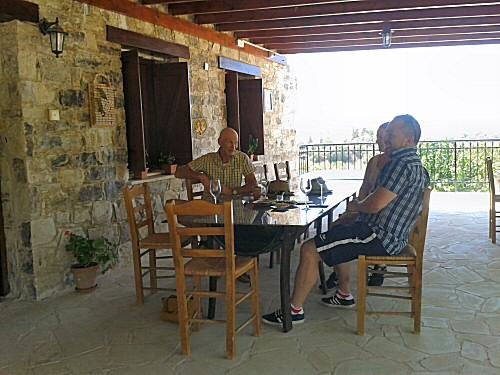 wine tasting cyprus