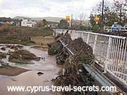 heavy rain in cyprus