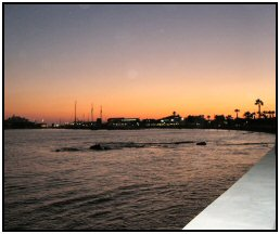 Paphos by night