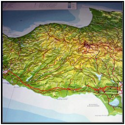 Cyprus map in 3D