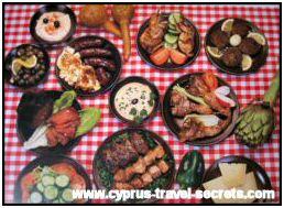 Cyprus meze