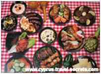 101 things to do - eat a cyprus meze