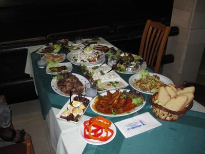 Cyprus Meze at Windmills Restaurant Protaras