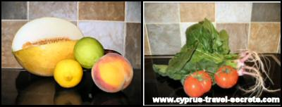 Cyprus fruit and veg