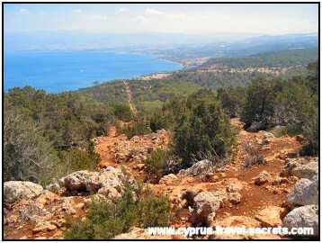Aphrodite trail, Akamas Cyprus