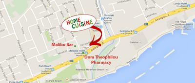 Home Cuisine location