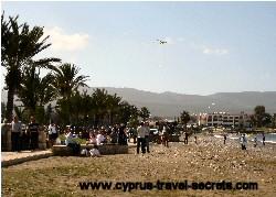 kite flying day cyprus