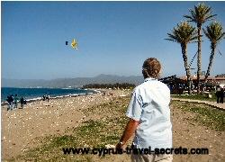 kite flying on Green Monday