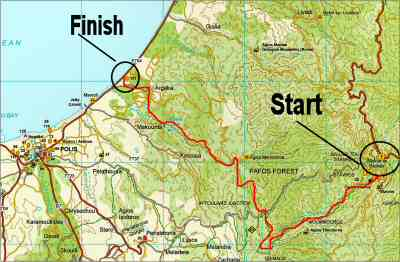 Mountain to coast Cyprus cycle challenge