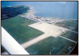 Paphos airport Cyprus