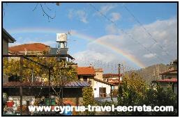 winter rainbow cyprus