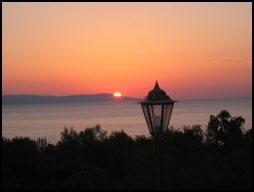 Akamas sunset