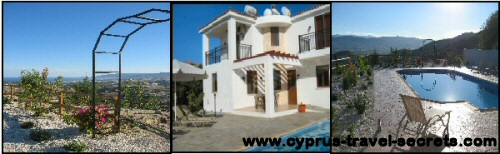 Cyprus holiday rent villa