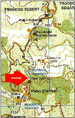 waterfall trail map