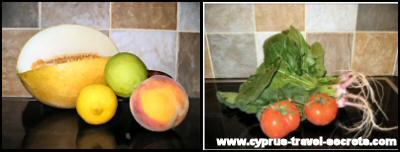 Cyprus fruit and veg