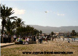 kite flying day cyprus
