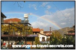 winter rainbow cyprus
