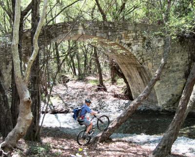 Roudias Bridge - venetian bridge in Cyprus