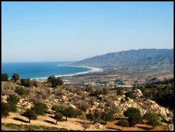View to Chrysochous bay