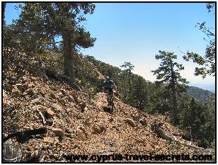 Atalante trail Troodos mountains